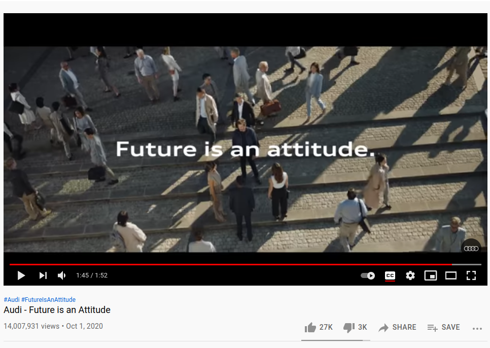 highly successful Audi video campaign
