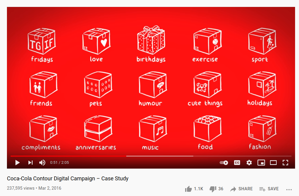 Brand's Video Marketing Campaigns for targeted audience