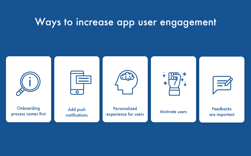 ways to increase app user engagement